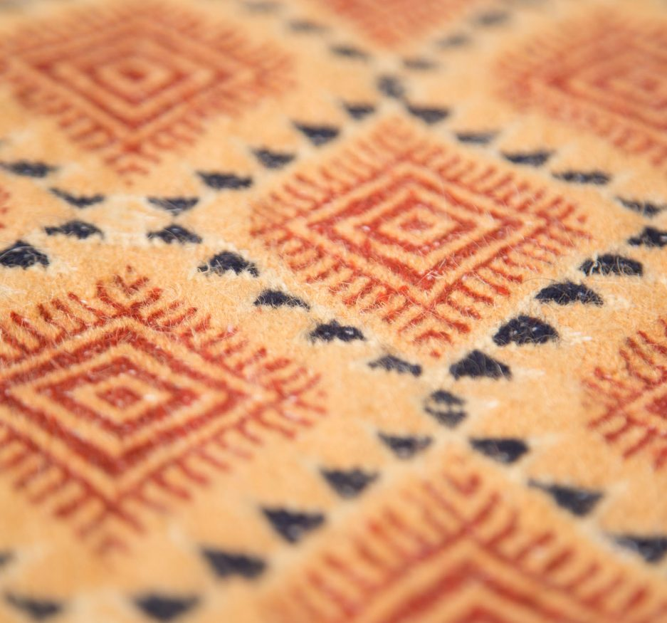 Golden Labyrinth Rug -1706