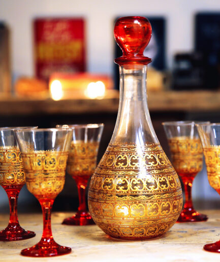 Orange Topaze Wine SET-0