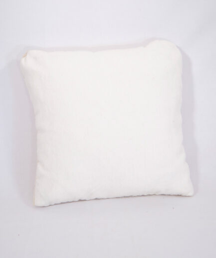 SMALL Wool BEIGE PILLOW -0