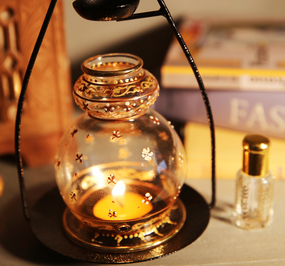 Golden oil diffuser-2286
