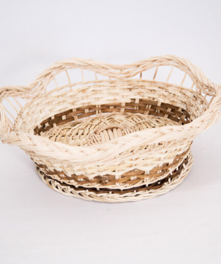 HANDWOVEN RATTAN WAVES COUNTER BASKET-0