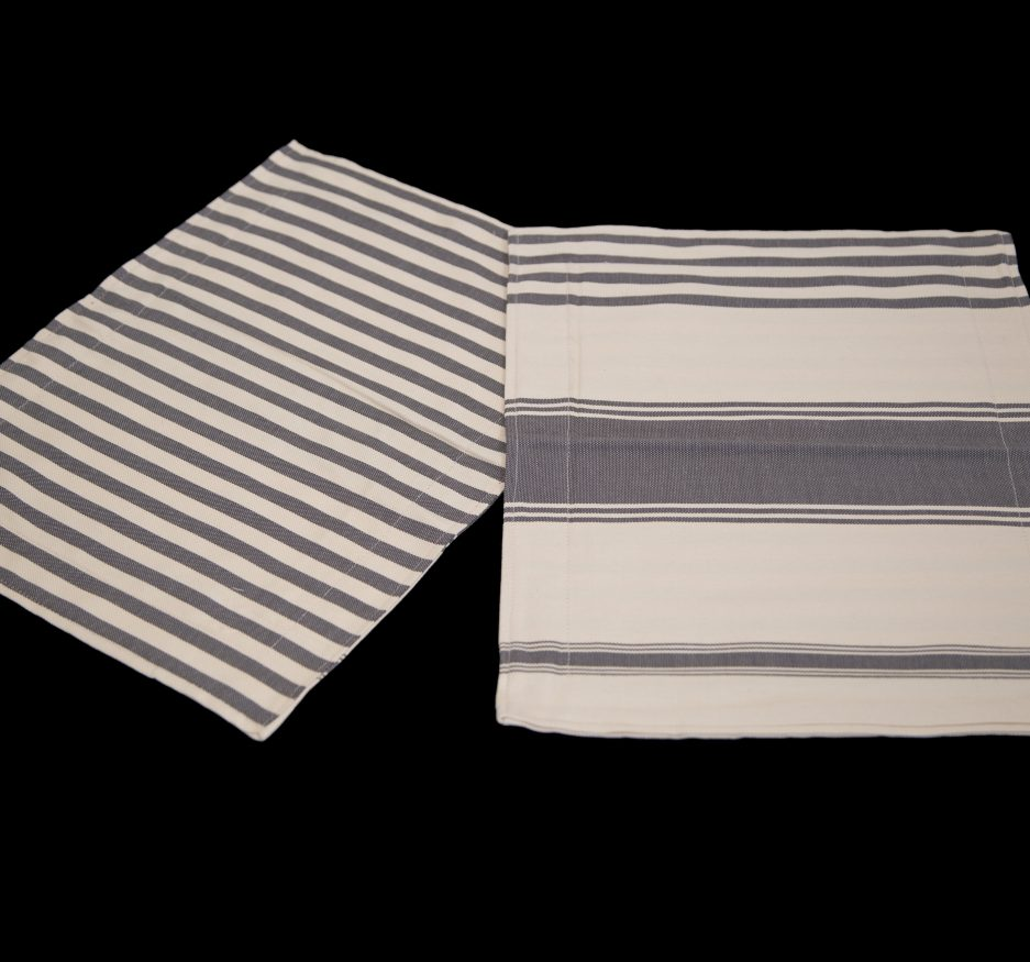 Gray Placemats: set of two-0