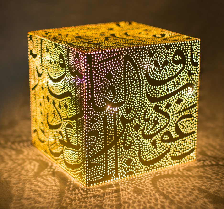 Calligraphic treasure table lamp-0