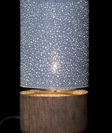 PALM WOOD LAMP-0