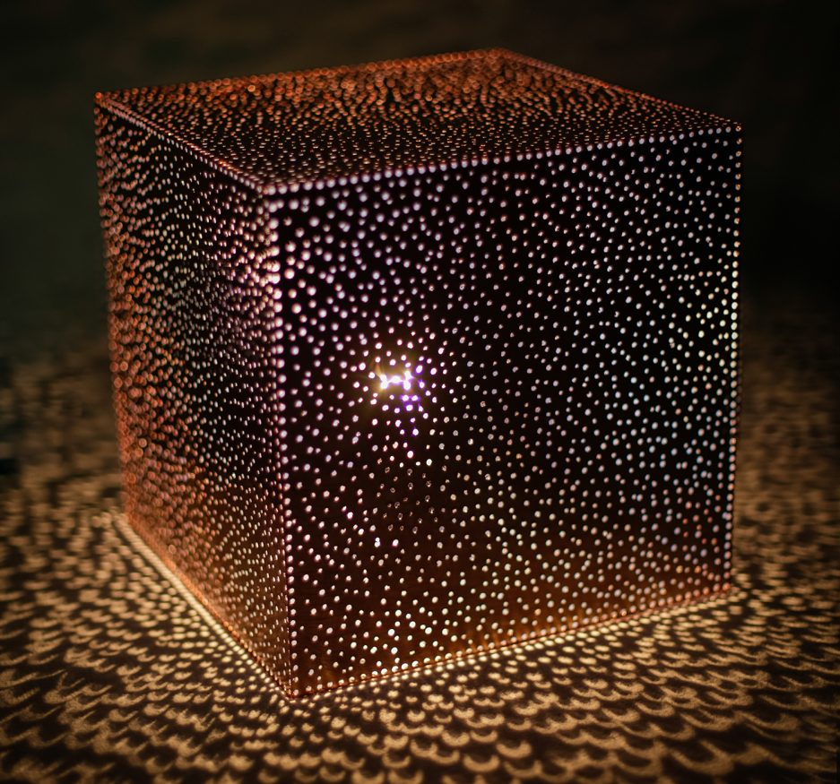 Bronze Lace table lamp-0