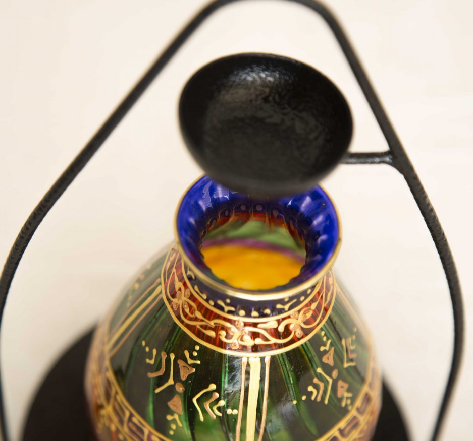 Tribal green oil diffuser -2385