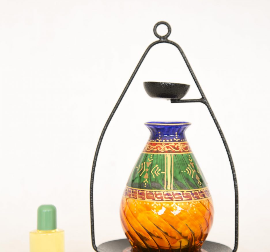 Tribal green oil diffuser -2387