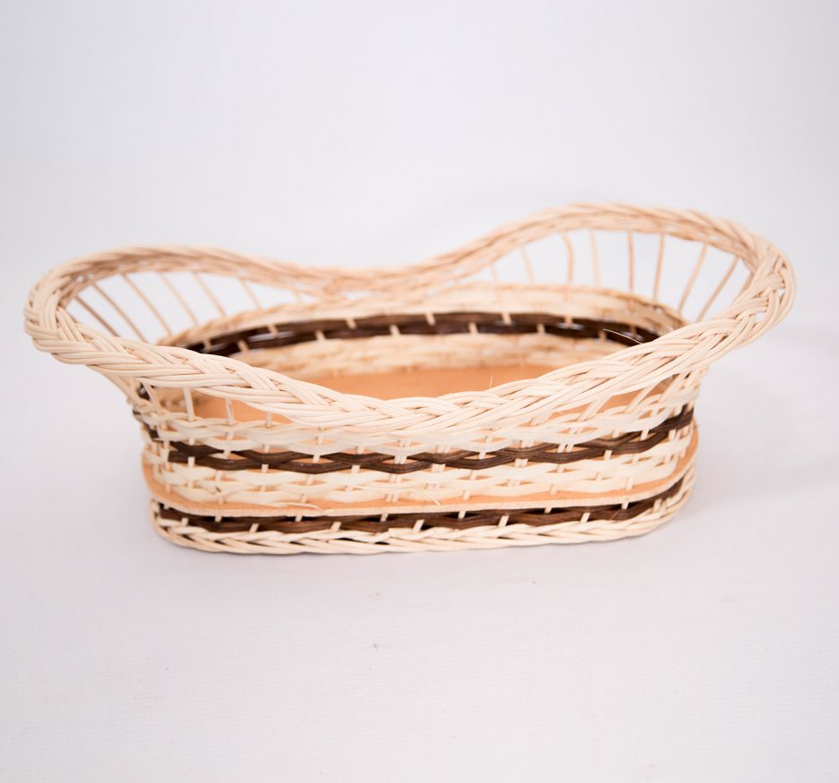 HANDWOVEN RATTAN FLOWING COUNTER BASKET-0