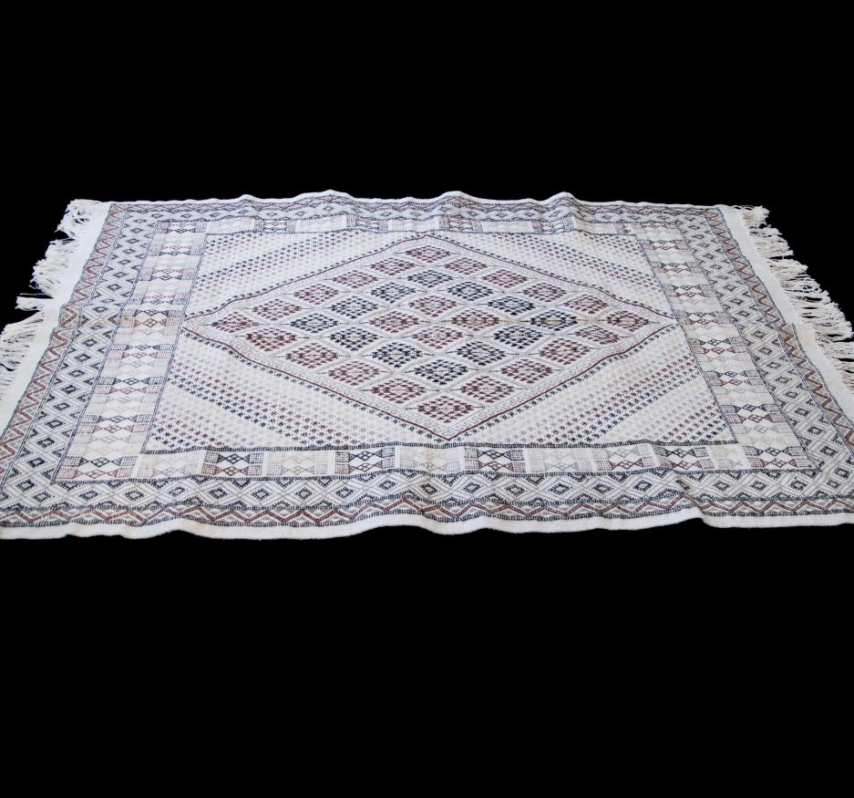 Diamond Center Luxury Margoum Rug-0